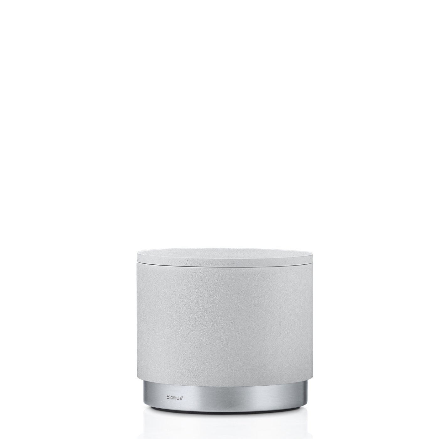 ARA SOAP STORAGE CANISTER BOX - Moon-Grey