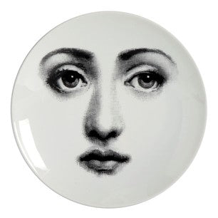 Fornasetti plate Theme & Variations series no 006