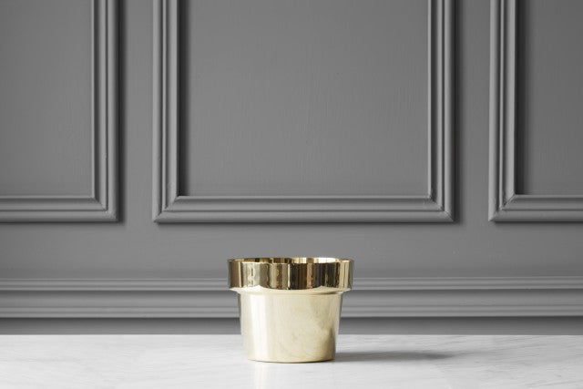 SKULTUNA Flower Pot Mini, polished,