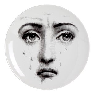 Fornasetti plate Theme & Variations series no 077