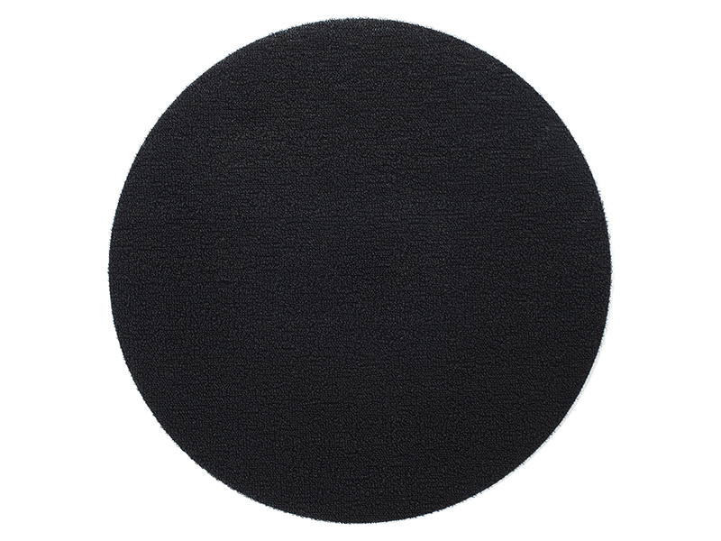 Chilewich Dot Shag Mat in Black (Round) 24""