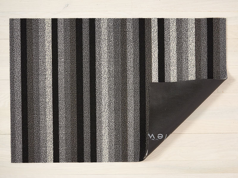 Chilewich Even Stripe Shag Mat in Mineral