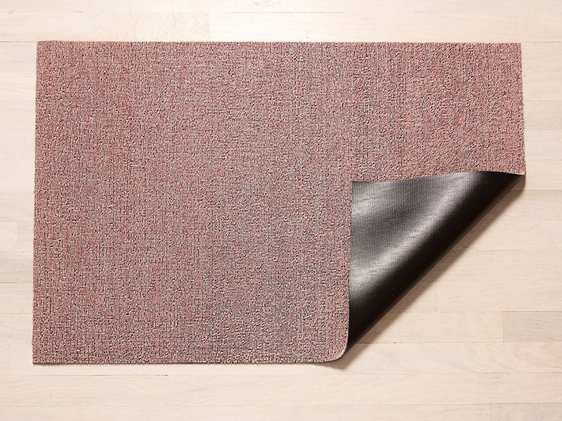 Chilewich Heathered Shag Mat In Blush Studio Pazo