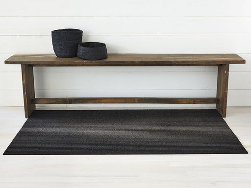 Chilewich Ombré Shag Plus Shag Mat in Black