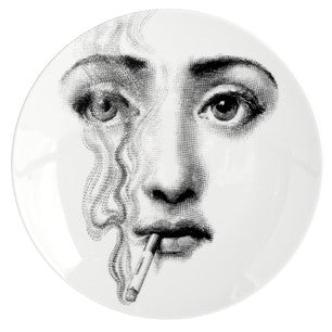Fornasetti plate Theme & Variations series no 081
