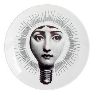 Fornasetti plate Theme & Variations series no 083