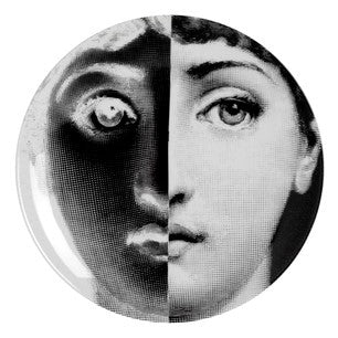 Fornasetti plate Theme & Variations series no 086