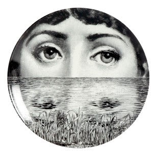 Fornasetti plate Theme & Variations series no 089