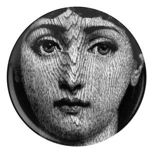 Fornasetti plate Theme & Variations series no 090
