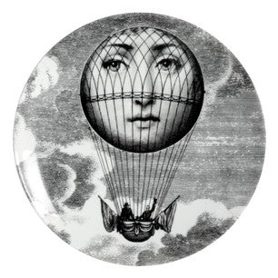 Fornasetti plate Theme & Variations series no 093