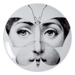 Fornasetti plate Theme & Variations series no 096