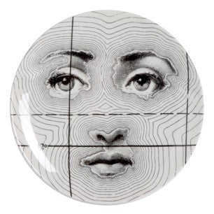 Fornasetti plate Theme & Variations series no 099