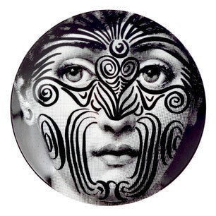 Fornasetti plate Theme & Variations series no 009