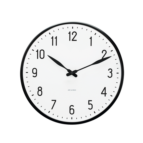 Arne Jacobsen Station Wall Clock, 6.3""