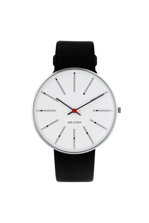 Arne Jacobsen 40mm Wrist Watch Banker's