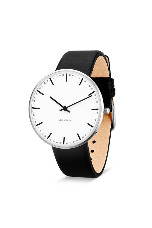 Arne Jacobsen 40mm Wrist Watch City Hall