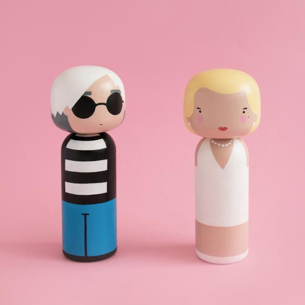 Kokeshi Doll by Sketch.Inc for Lucie Kaas Marilyn