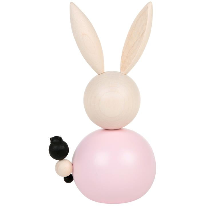 Aarikka 16cm KISUPUPUJUSSI DECORATION  - Rabbit in pink with cat