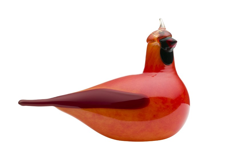 iittala bird by Toikka Red Cardinal *