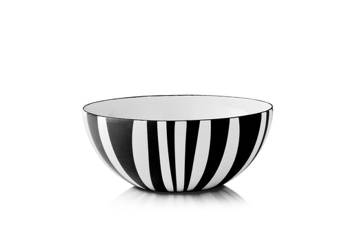Cathrineholm enamel bowl 18cm stripes