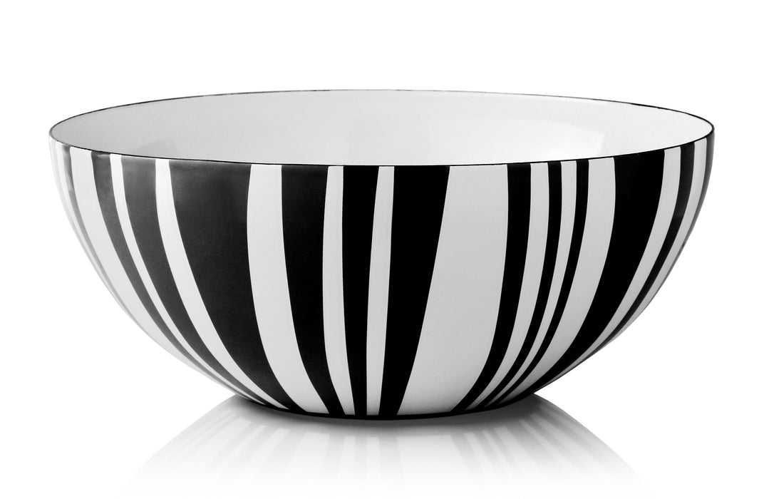 Cathrineholm enamel bowl 30cm stripes