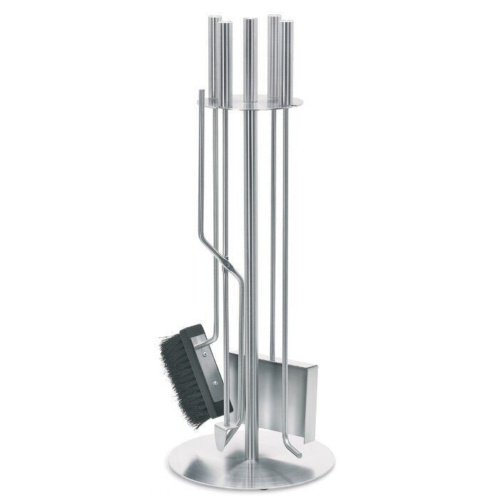 Blomus Stainless Fireplace Tool Set - 5 Pc.