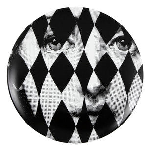 Fornasetti plate Theme & Variations series no 368
