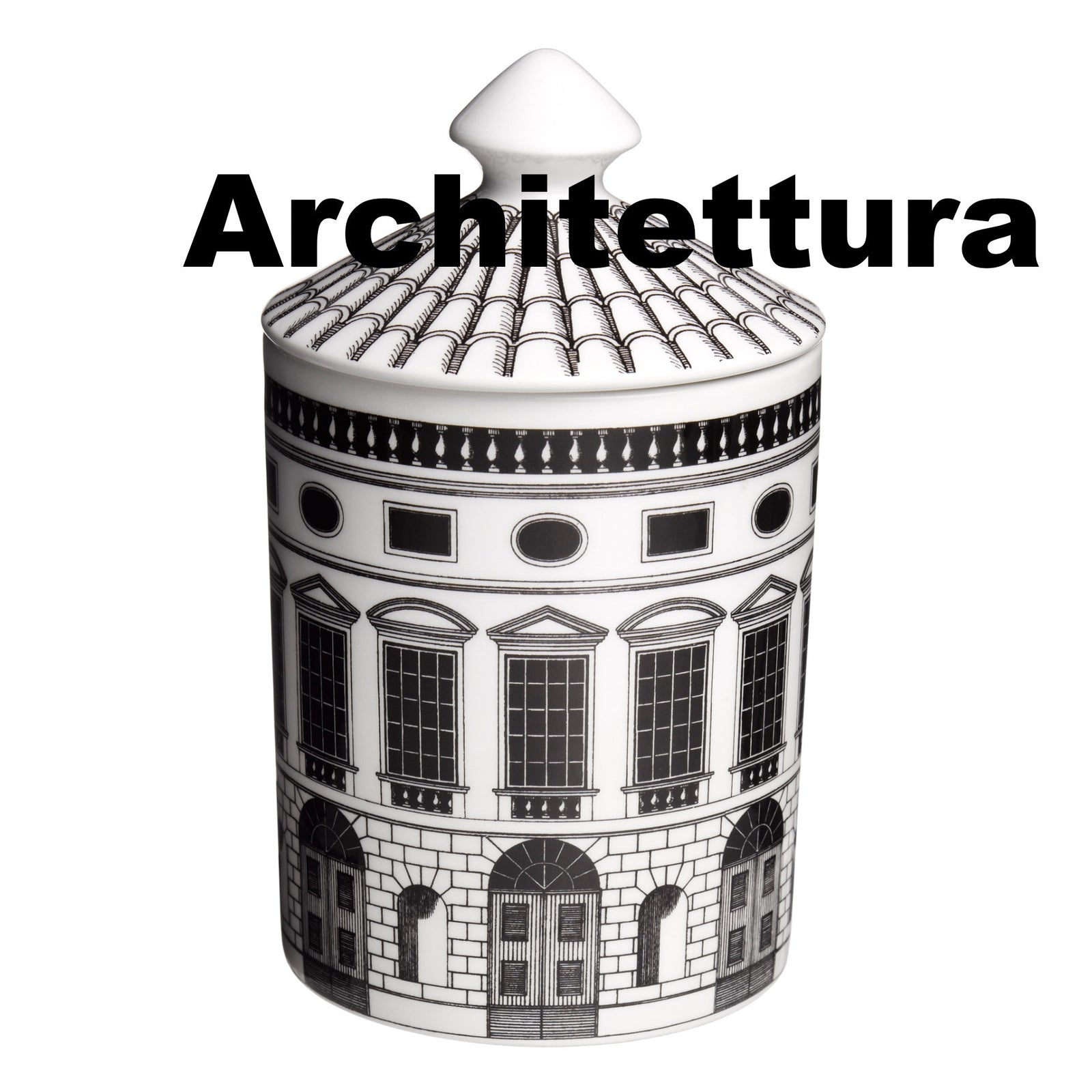 Fornasetti candle Architettura 300g