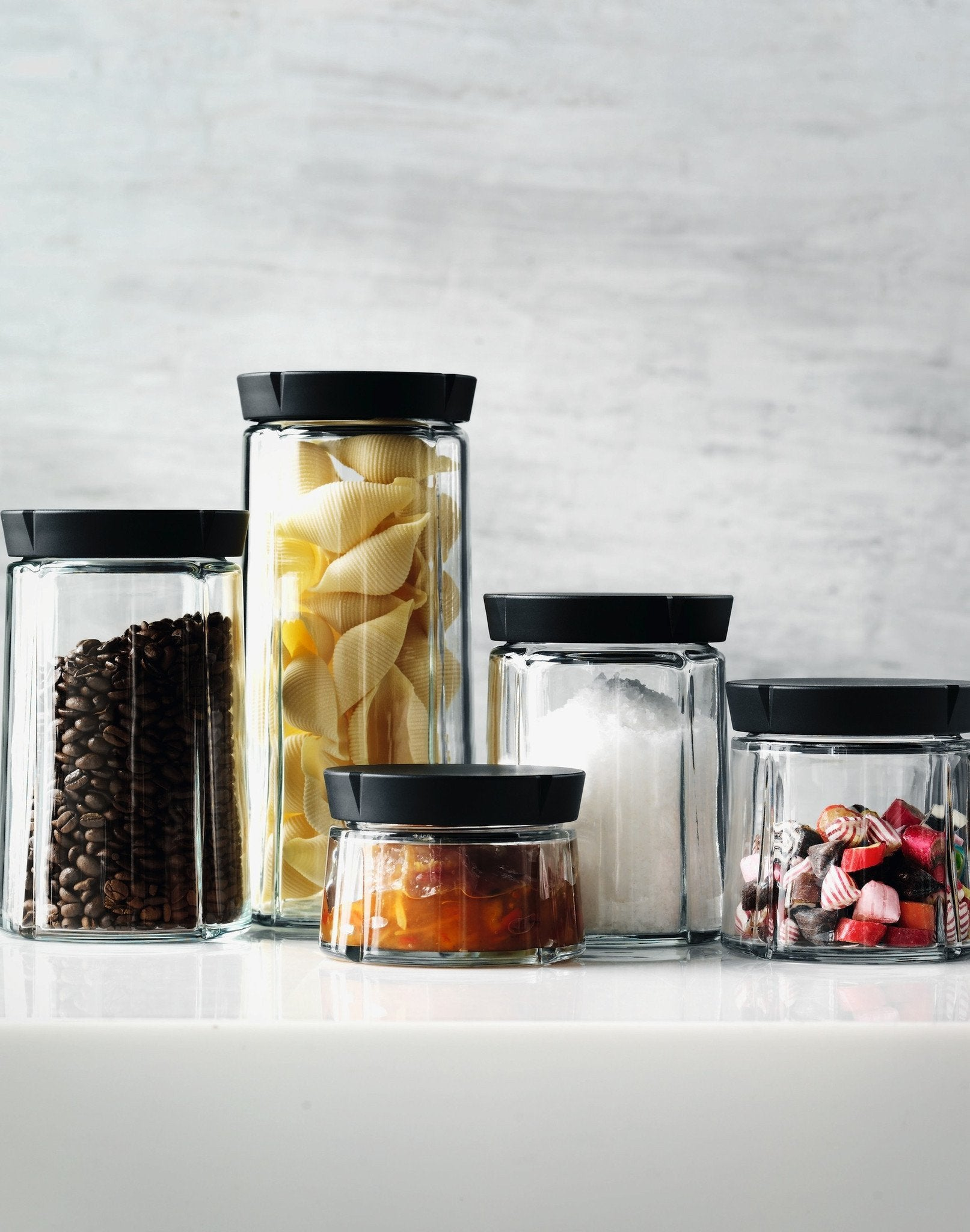 Grand Cru Glass Storage Jar 0.5 Qt. / 500 ml