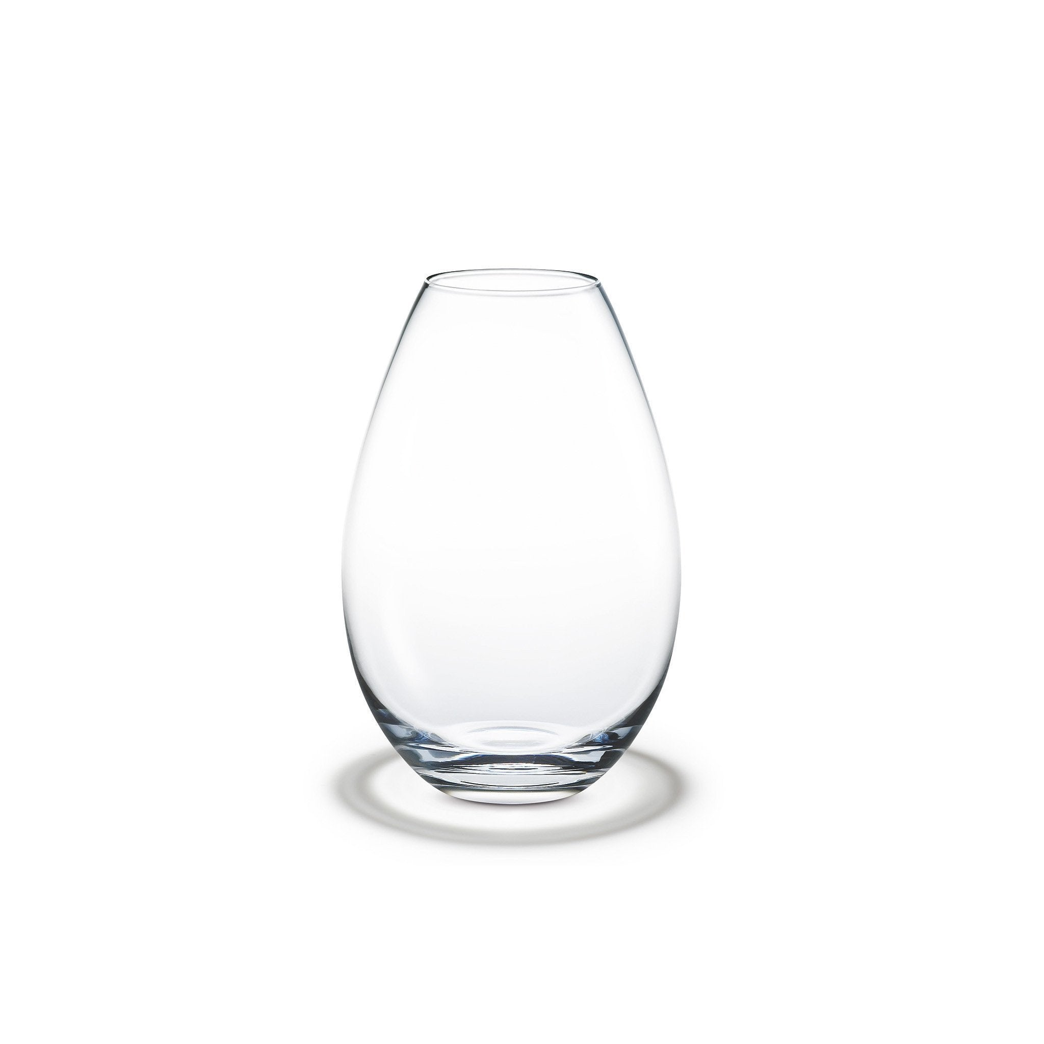 Cocoon Vase, Clear, 8""