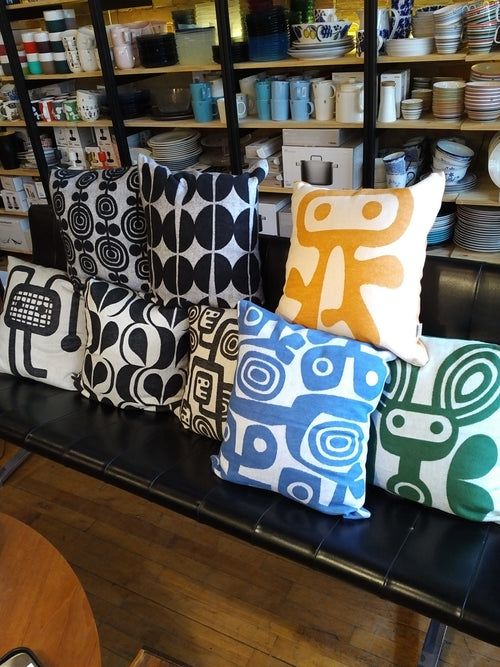 Organic cotton pillows from Sweden