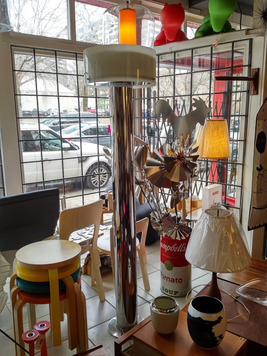 GEORGE KOVACS Chrome Column Floor Lamp