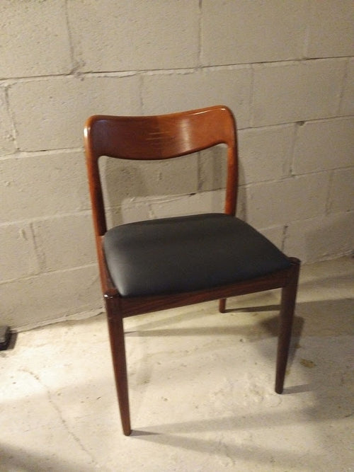 Vintage rosewood chair