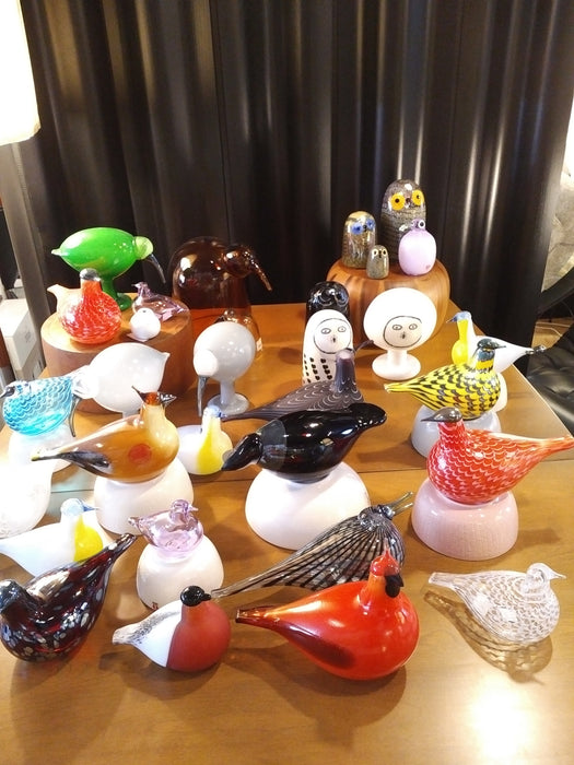 iittala bird by Toikka Little Barn Owl