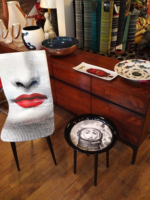 Fornasetti chair red bocca