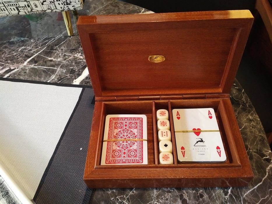 Fornasetti box games card box