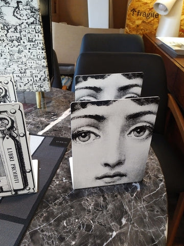 Fornasetti stool /side table Ortensia