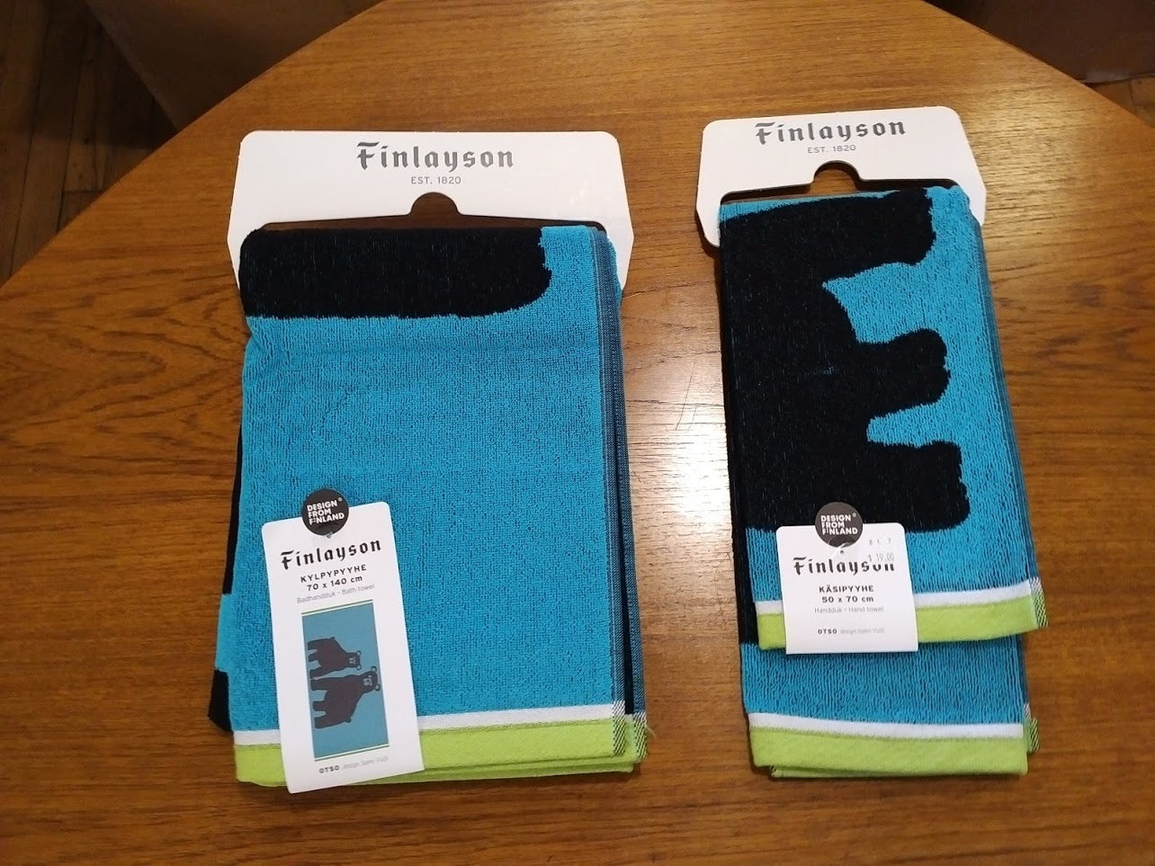 Finlayson HAND TOWEL OTSO TURQUOISE 50X70