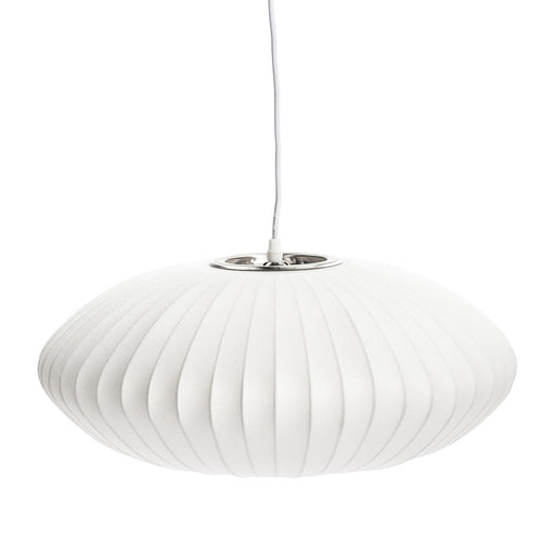 "Cocoon bubble lamp 35"" Discus"