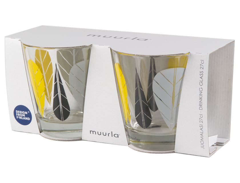 Muurla Leaves Drinking glasses