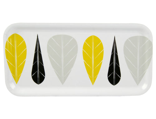 Muurla Leaves Wooden Tray 27cmx13cm