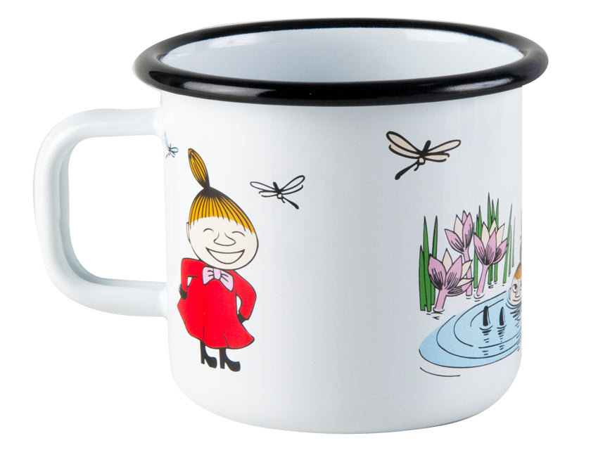 Muurla Moomin Enamel mug 3.7dl Little My