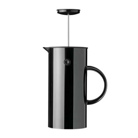 Stelton Erik Magnussen French press coffee black