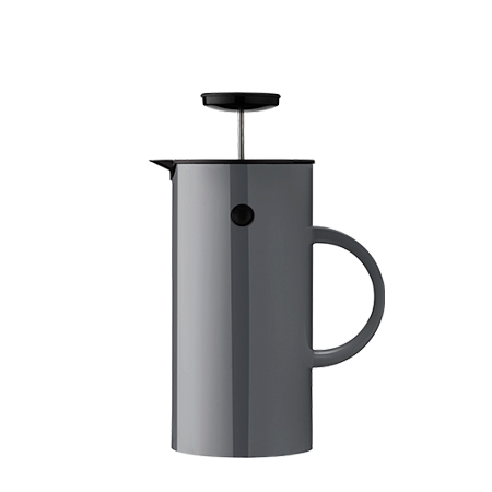 Stelton Erik Magnussen French press coffee anthracite