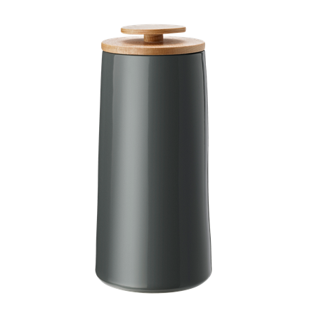 Stelton Emma Canister large dark grey