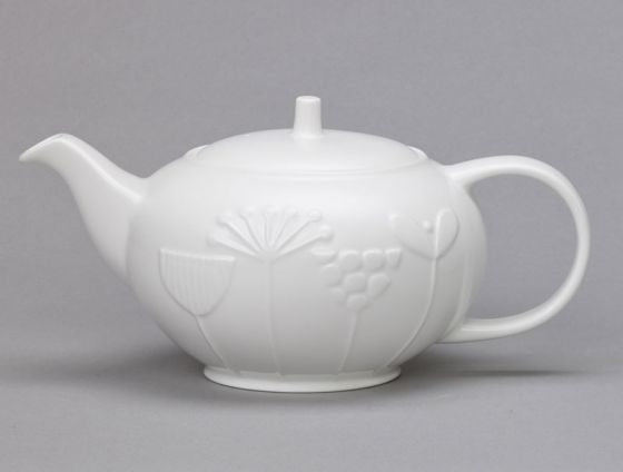 Plum Meadow Teapot