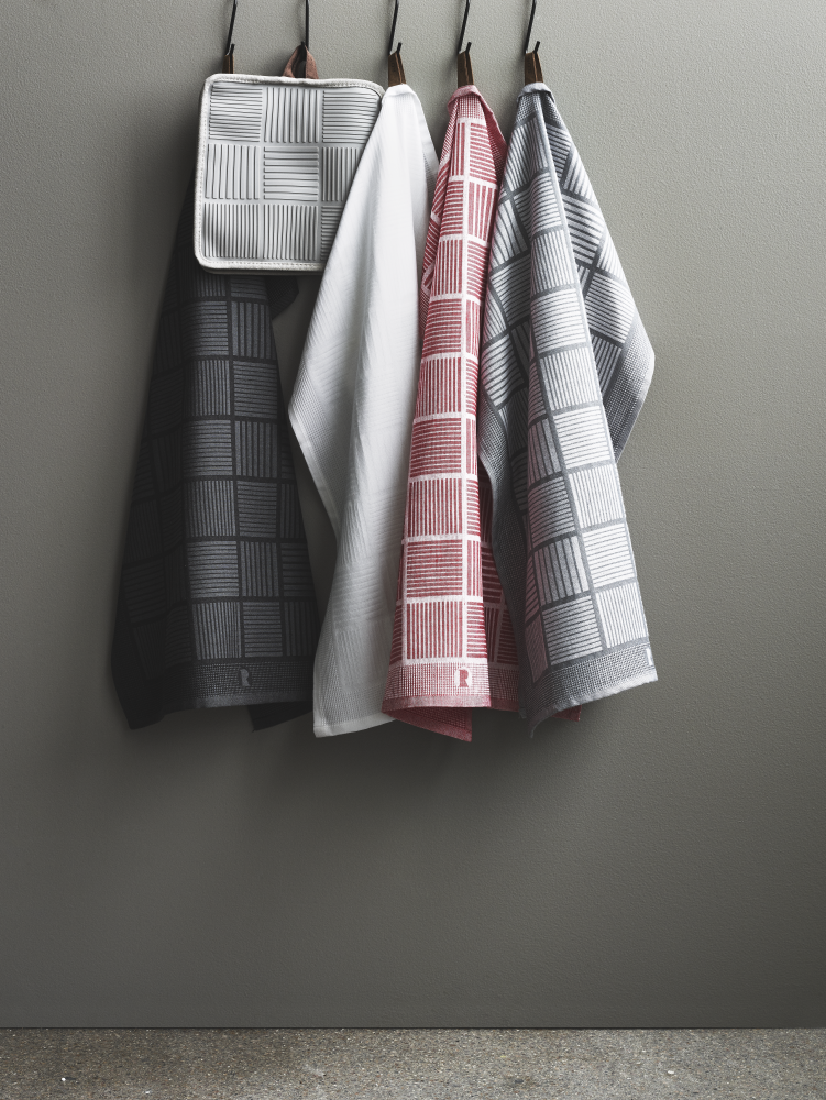Tea towel, Grey