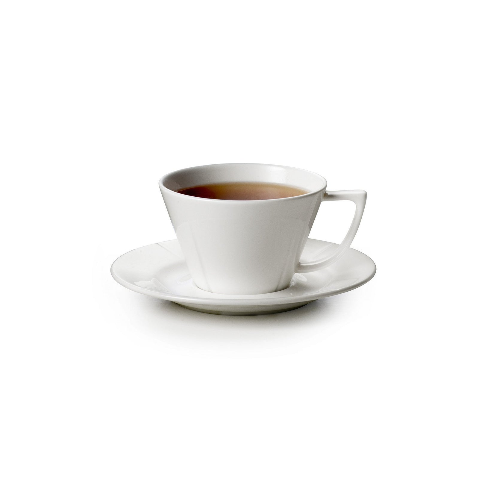 Grand Cru Tea Cup w/ Saucer - white