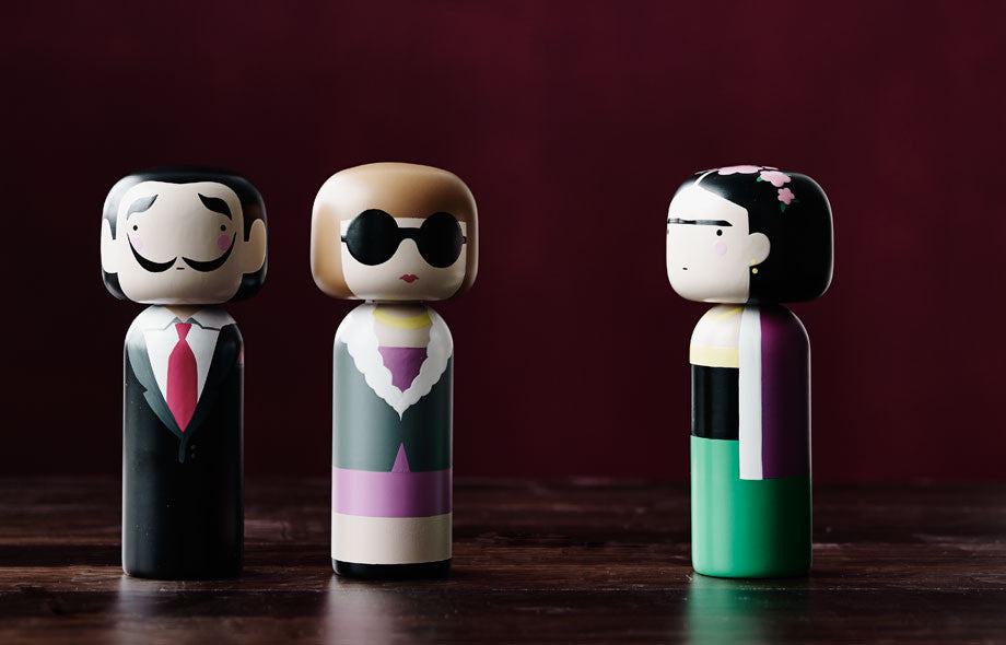Kokeshi Doll by Sketch.Inc for Lucie Kaas Karl