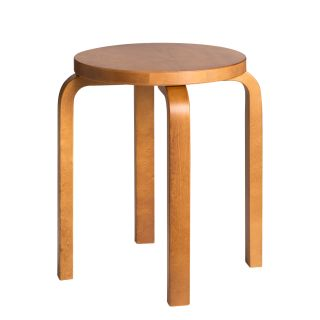 Artek Alvar Aalto stool E60 Birch honey coloured